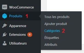 Ajouter Nouvelle Catégorie de Produit WooCommerce WordPress Conception E-commerce